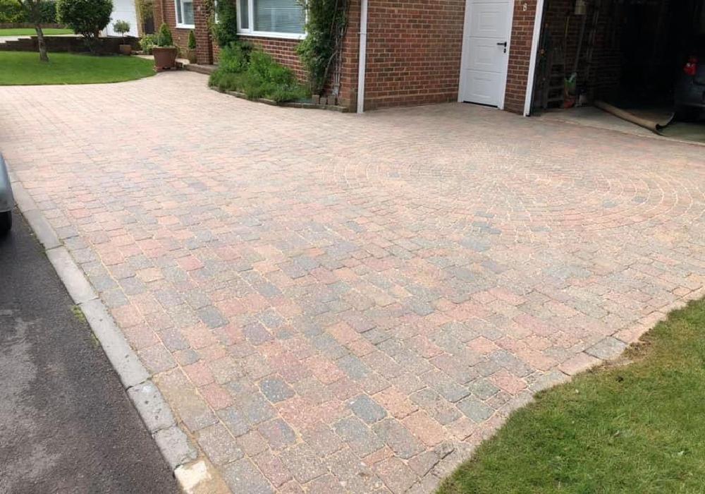block paving cleaning in salisbury
